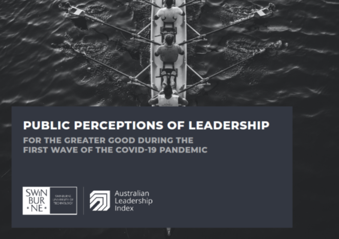 public perceptions of leadership for the greater good during the first wave of the covid-19 pandemic