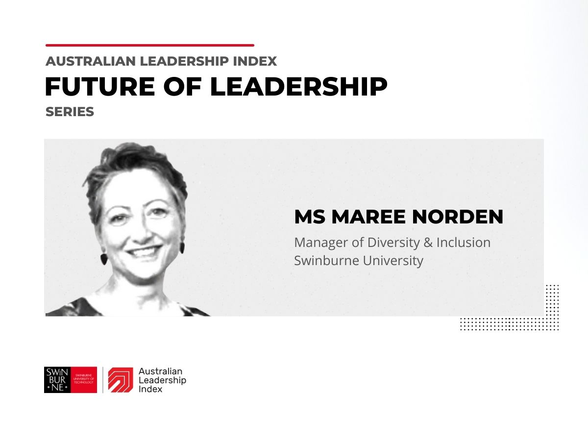Video of Maree Norden discussing what makes a good leader