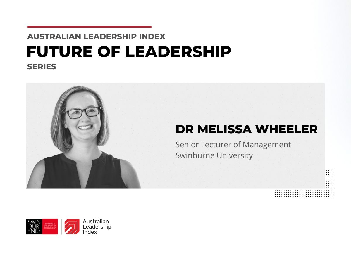 Video of Melissa Wheeler discussing what makes a good leader